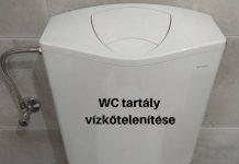 WC tartaly vizkotelenitese