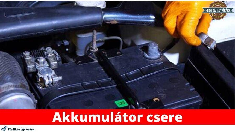 akkumulator-csere